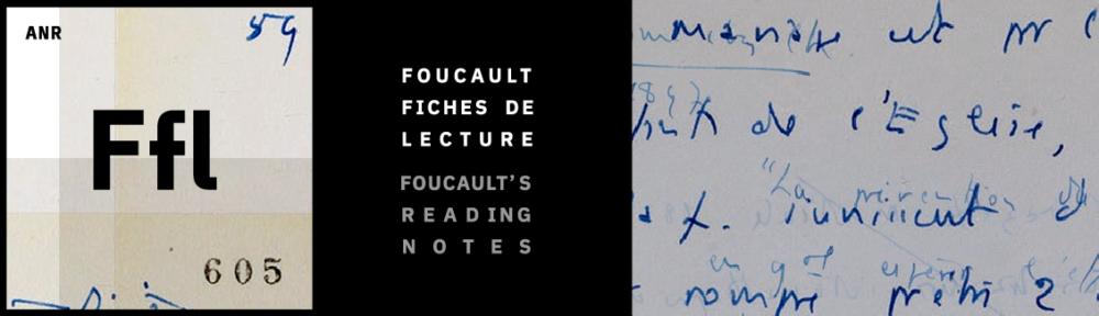 Foucault fiches de lecture